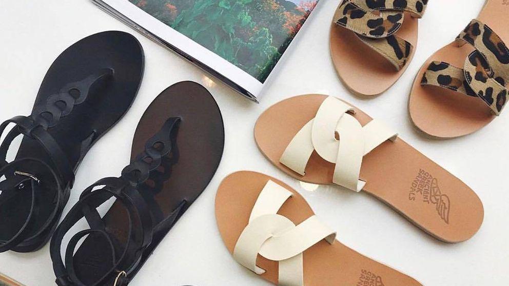 Las sandalias griegas con las que sueñas ya tienen tienda en Europa