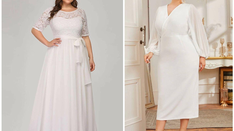 Vestidos de novia baratos de Shein. (Cortesía)