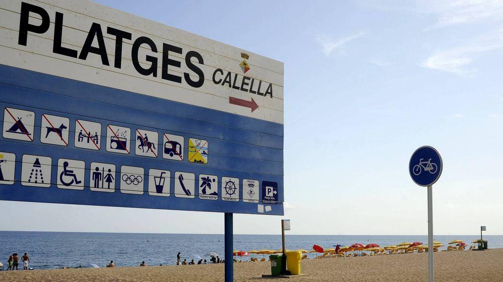 Foto: Foto de archivo de la playa de Calella. (EFE)