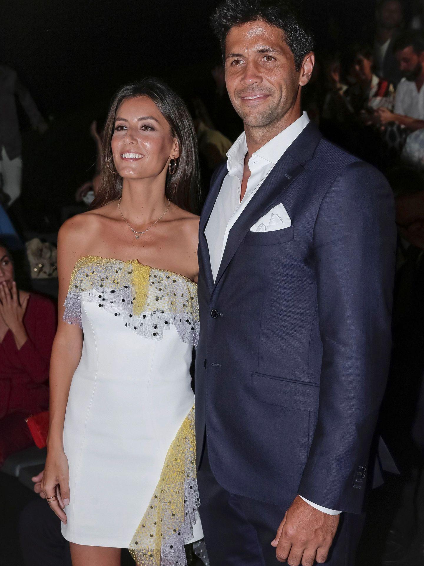 El tenista Fernando Verdasco y su mujer,  Ana Boyer. (EFE)