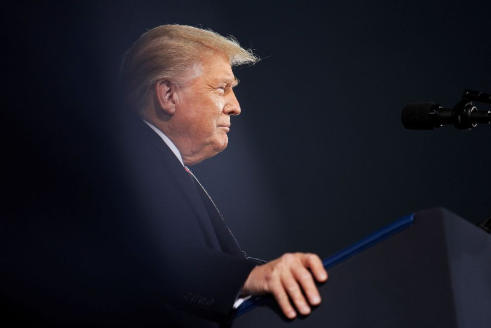 Foto: Donald Trump, en un mitin de campaña reciente. (Reuters)