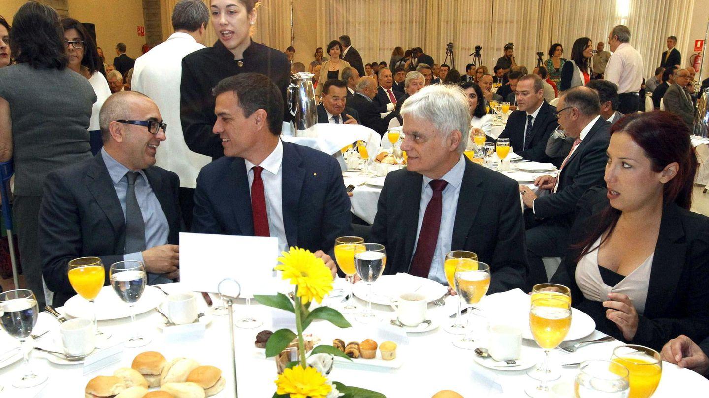 Pedro Sánchez apuesta por la dieta mediterránea. (EFE)