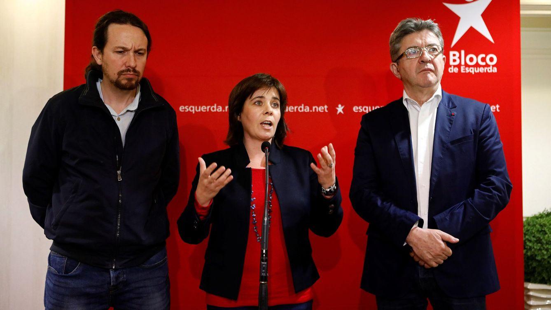 Podemos busca argumentos en Lisboa para recelar de la 'solución a la portuguesa'