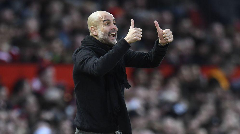 Foto: El entrenador del Manchester City, Pep Guardiola. (EFE)
