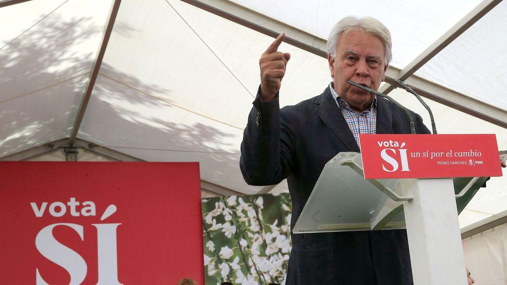 Felipe González se suma a los líderes socialistas que piden dejar paso al PP
