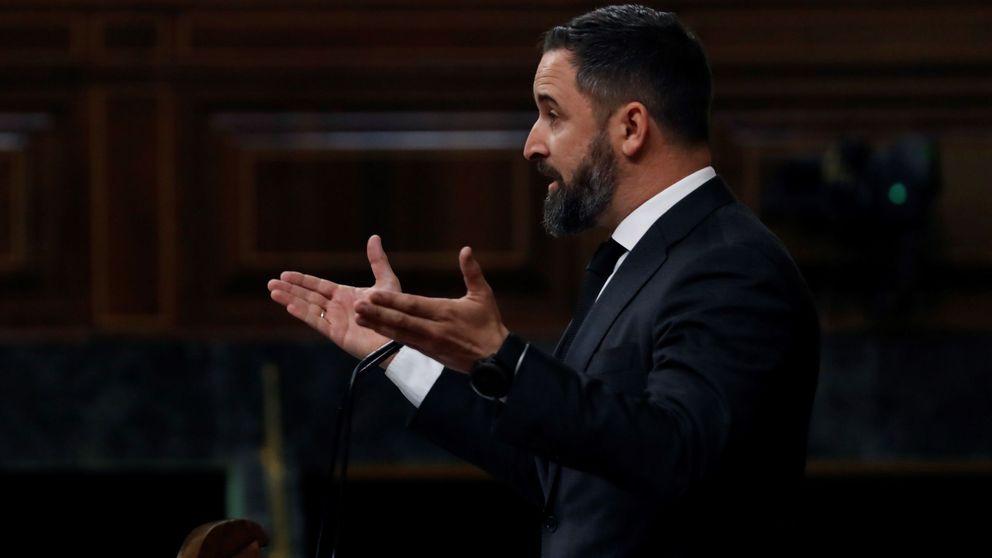 Abascal vota en contra de la prórroga y abre el debate de una moción de censura