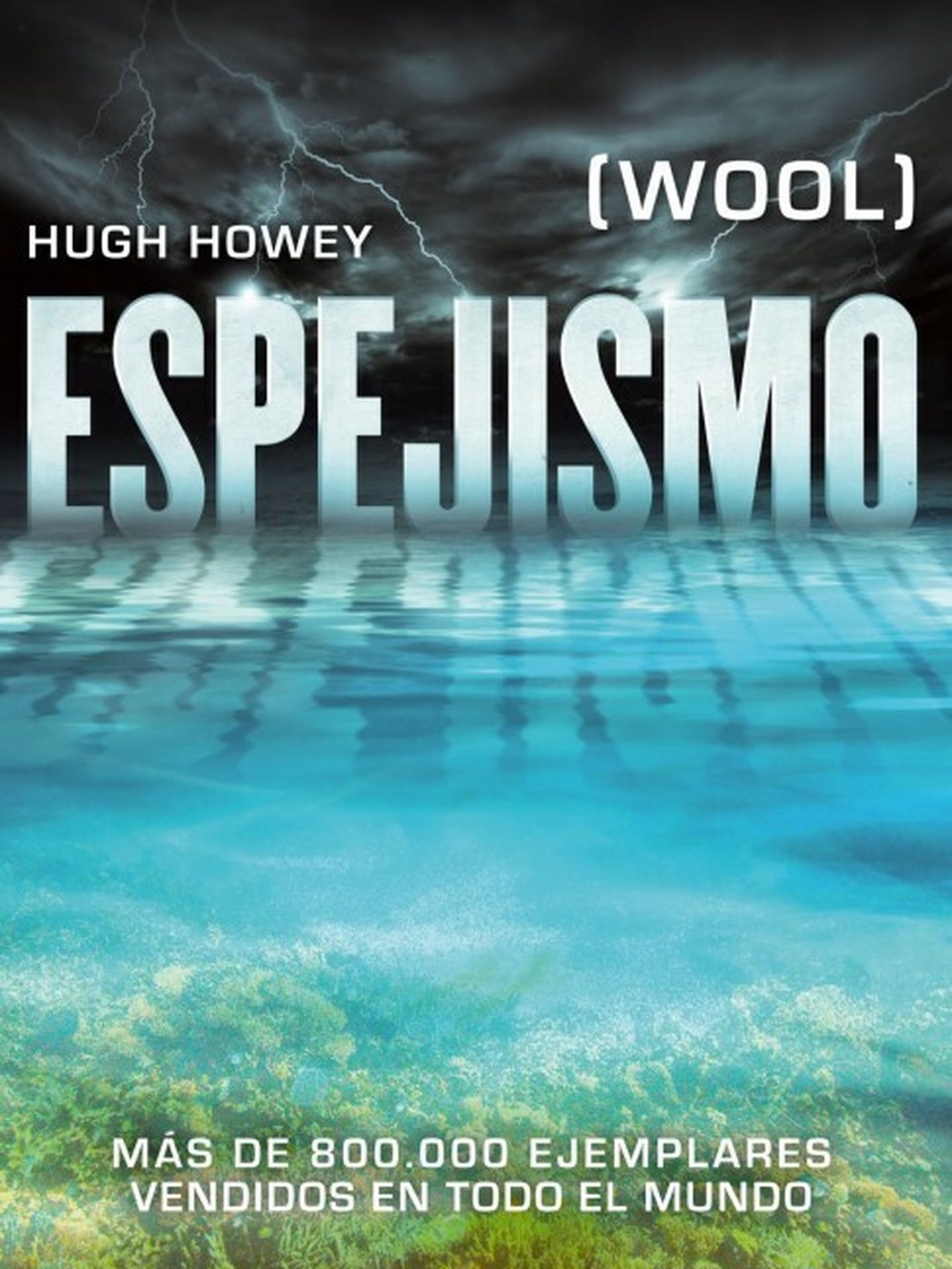 Portada de la edición española de 'Espejismo'
