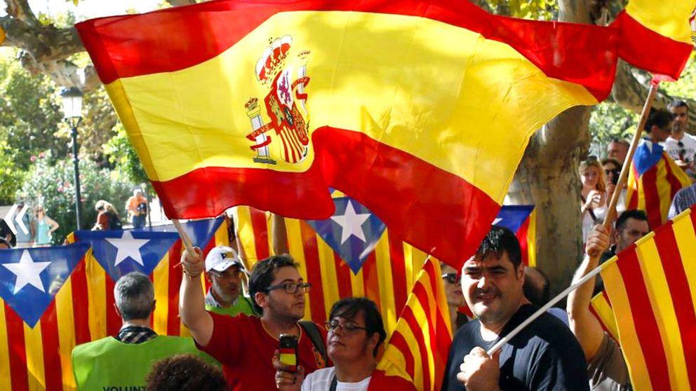 ¿Por qué (casi) nadie se moviliza contra la independencia de Cataluña?