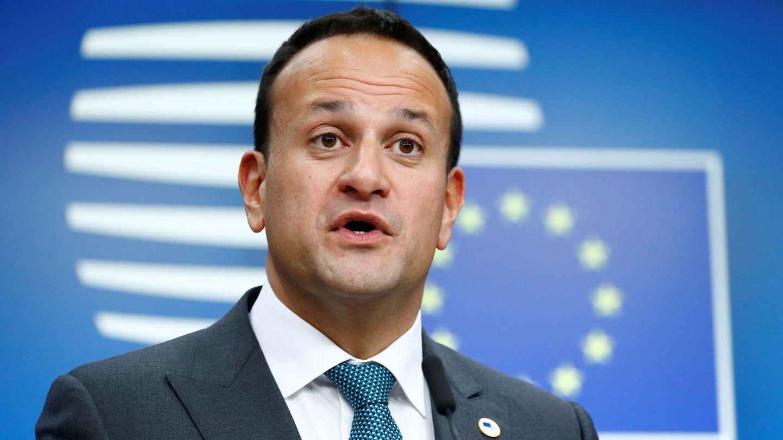 El primer ministro de Irlanda, Leo Varadkar, en Bruselas. (Reuters)