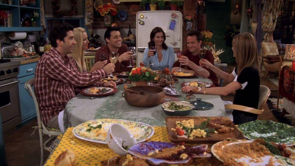 Foto: El último capítulo de Acción de Gracias de la serie 'Friends'