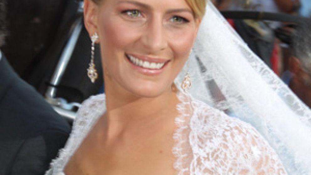 Tatiana Blatnik vuelve a sus orígenes para vestirse de princesa en su boda