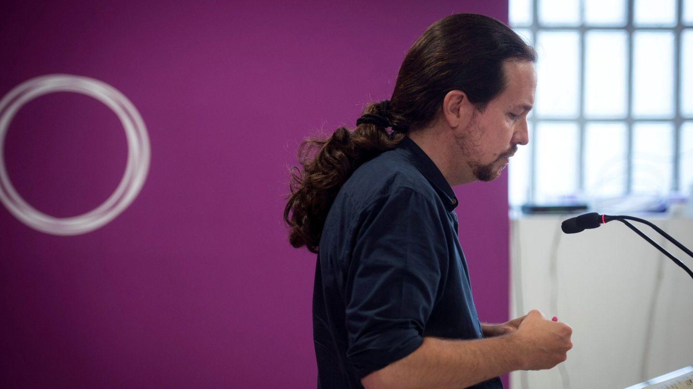 Pablo Iglesias, el pasado 27 de mayo en la sede de Podemos. (EFE)