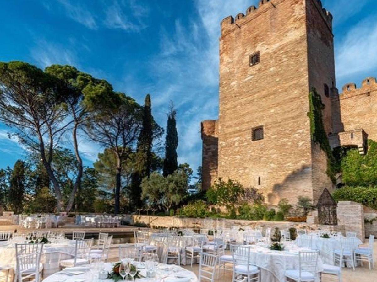 Foto: Descubre enclaves históricos para tu boda, como el castillo de Batres. (Instagram @castillodebatres)