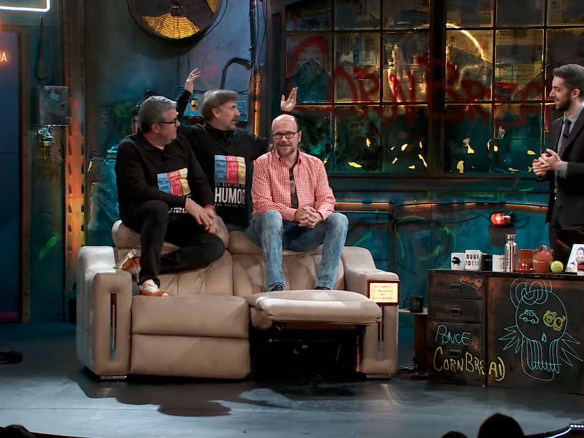 Foto: Broncano se lo pasó en grande con la presencia de Flo, Mota y Segura en La Resistencia (Foto: YouTube)