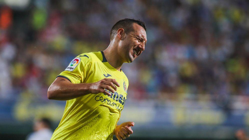 Foto: Santi Cazorla, durante su regreso con el Villarreal a LaLiga... y al fútbol (Cordon Press)