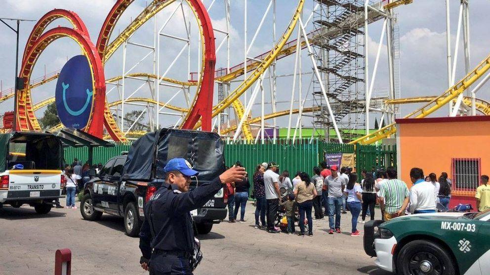 Mueren dos personas en México al caer de una montaña rusa a 10 metros de altura