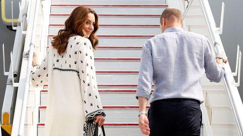 Guillermo y Kate Middleton, abrupto fin de viaje a Pakistán tras un gran susto