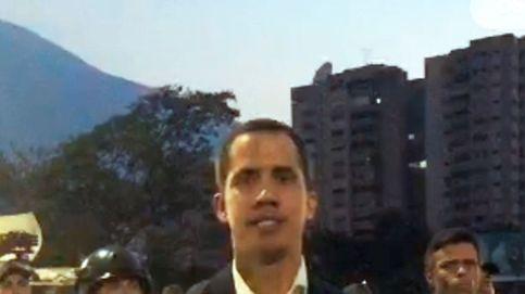 Los militares opositores liberan a Leopoldo López y Guaidó llama a tomar las calles