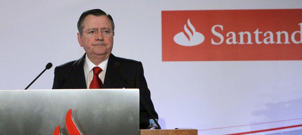 Foto: El exconsejero delegado del Santander, Alfredo Sáenz. (Efe)