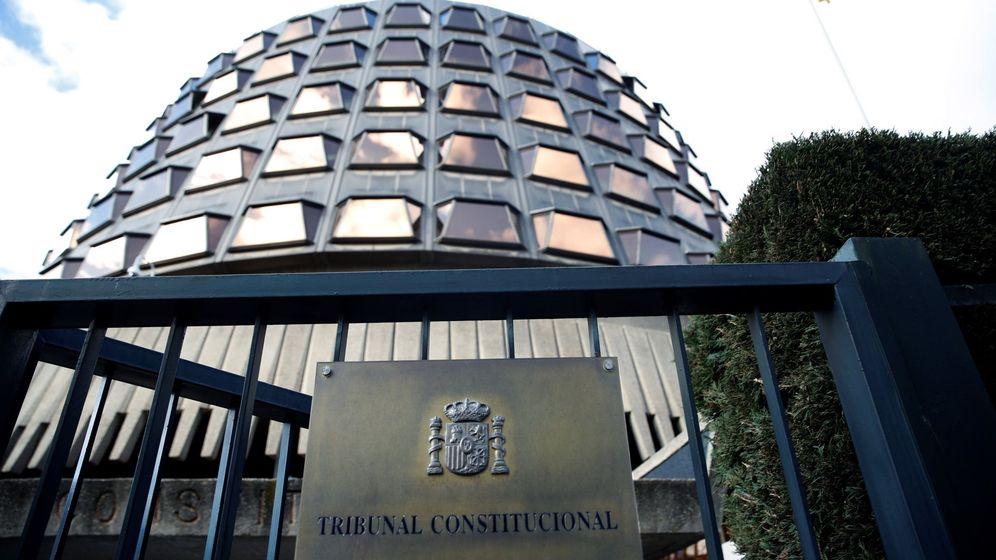 Foto: Imagen de la sede del Tribunal Constitucional. (EFE)