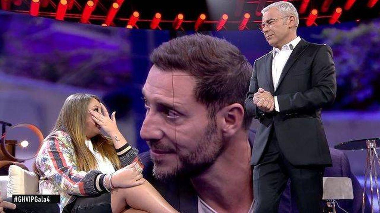 Las lágrimas de Rocío Flores en 'GH VIP'.  (Telecinco)