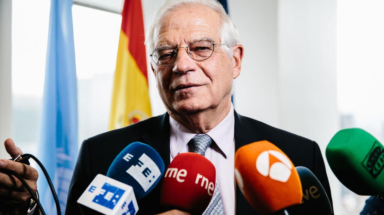 El ministro Josep Borrell en una foto reciente de EFE.