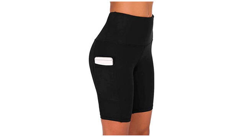 Pantalones cortos de yoga para mujer COTOP