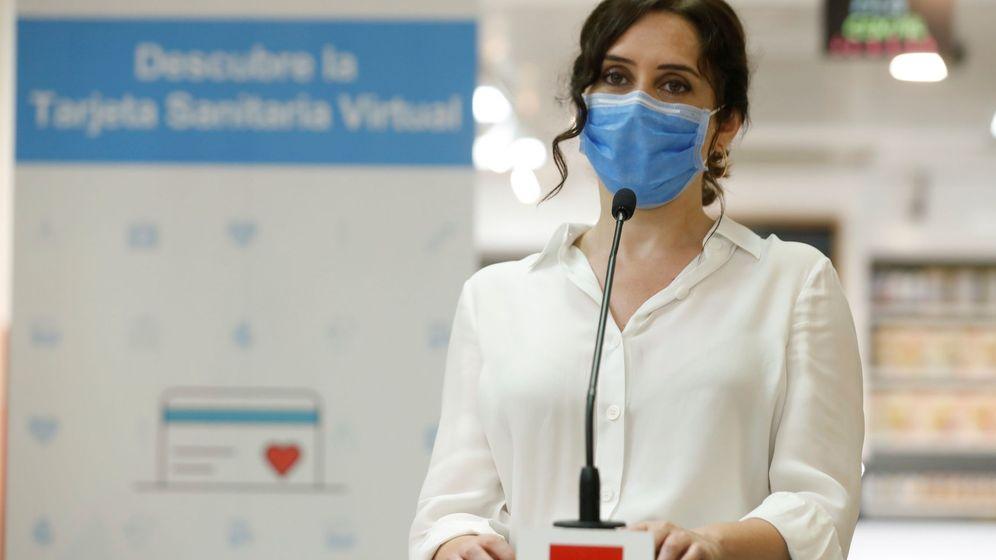 Foto: La presidenta de la Comunidad de Madrid, Isabel Díaz Ayuso (EFE)
