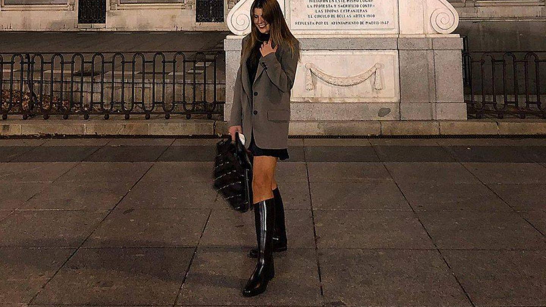 Caterina Crespo con las botas de Decathlon. (Instagram, @caterinacrespo)
