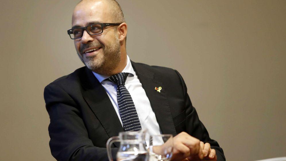 Foto: El 'conseller' de Interior de la Generalitat, Miquel Buch. (EFE)