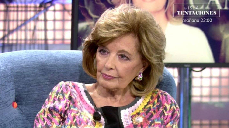 María Teresa Campos en 'Sálvame deluxe'. (Mediaset España)