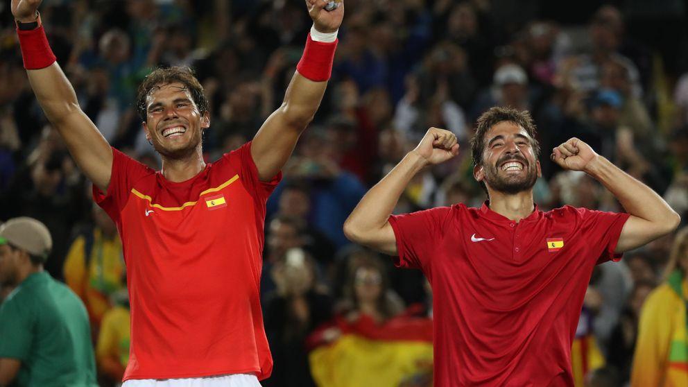 España vuelve a la élite del tenis: Nadal y López certifican el ascenso en la Davis