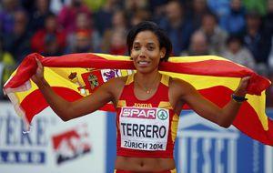 Indira Terrero ya es la primera medallista española de 400 metros