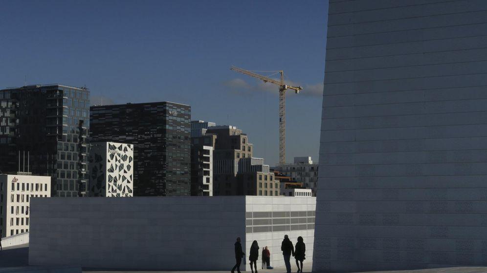 Foto: Vistas de la opera de Oslo. (Reuters)