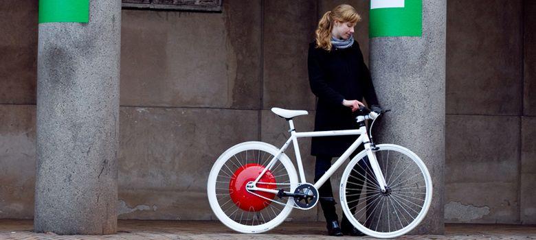 Foto: La rueda inteligente que convierte cualquier bicicleta en eléctrica