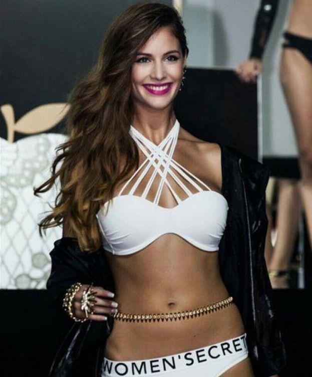 Foto: Desiré Cordero desfilando para Women'Secret.