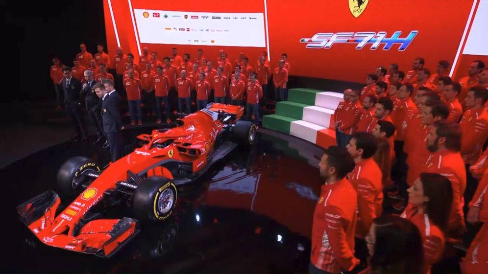 Foto: Este es el nuevo Ferrari SF71H de Vettel y Raikkonen para 2018