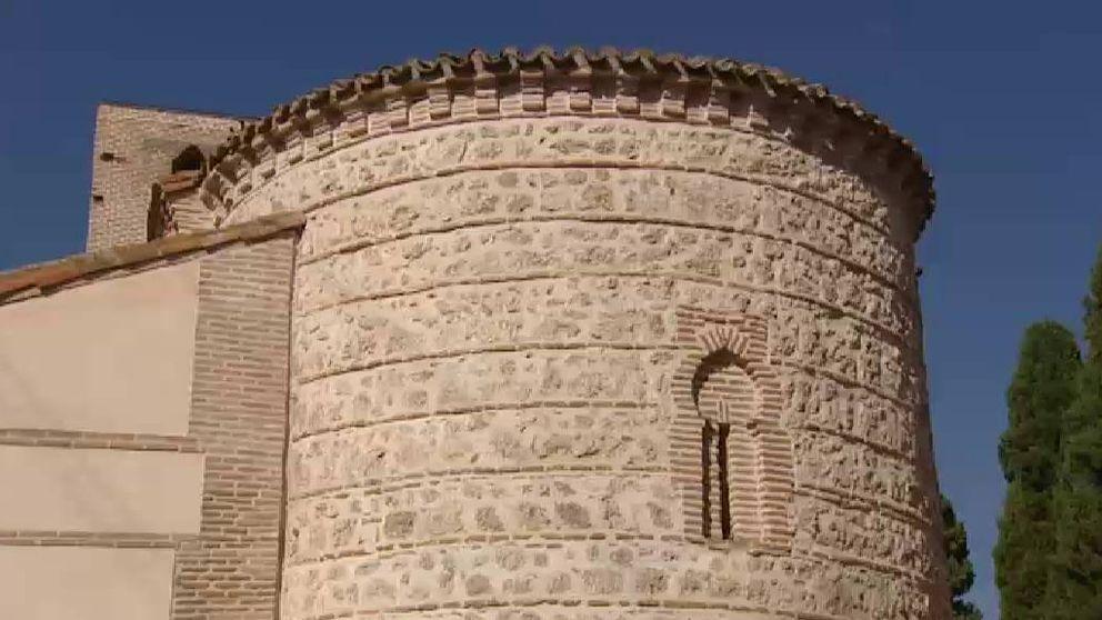 Una ermita medieval entre grafitis y restos de basura en Madrid