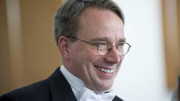 Foto: Linus Torvalds, creador de Linux