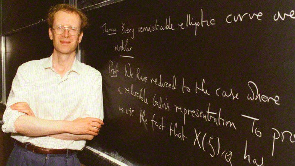 Foto: Andrew Wiles, el matemático británico que ha probado el último teorema de Fermat