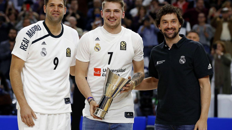 El cabreo de Luka Doncic con el arbitraje y su defensa de Sergio Llull