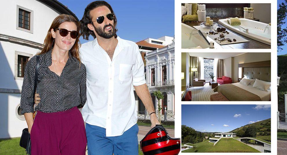 Raquel Sánchez Silva y su novio, fin de semana de relax en un balneario cinco estrellas