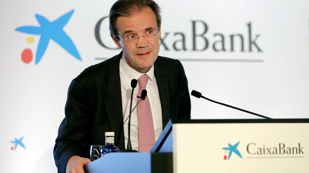 Foto: Jordi Gual, presidente de CaixaBank. (EFE)