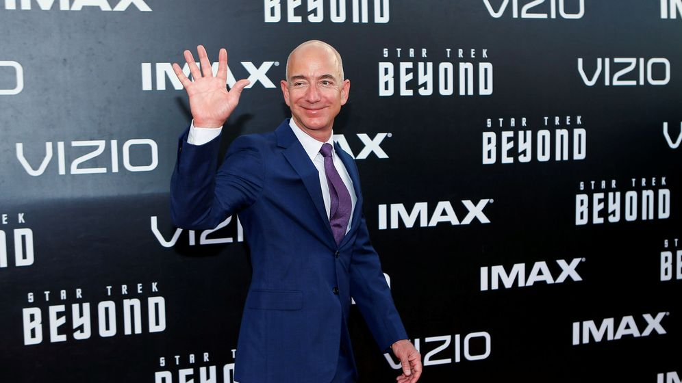Foto: El CEO de Amazon, Jeff Bezos. (Reuters)
