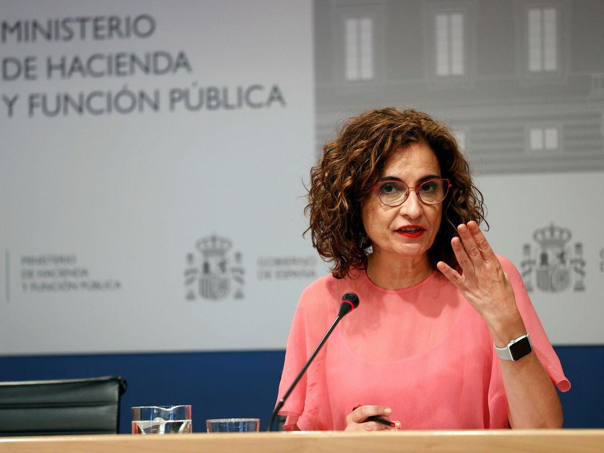 Foto: La ministra de Hacienda y Función Pública, María Jesús Montero. (EFE)