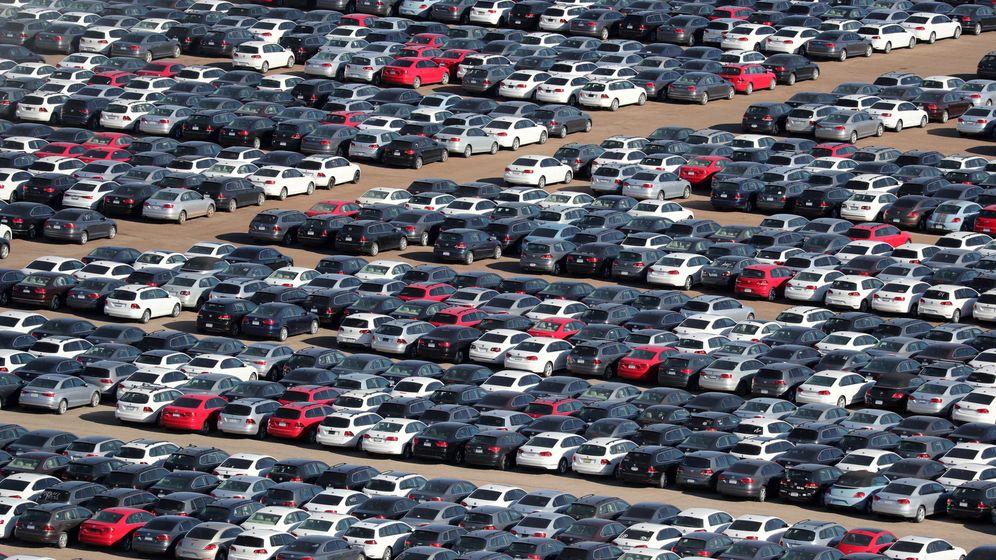 Foto: Vehículos diésel recomprados por Volkswagen tras el escándalo del Dieselgate (Reuters)