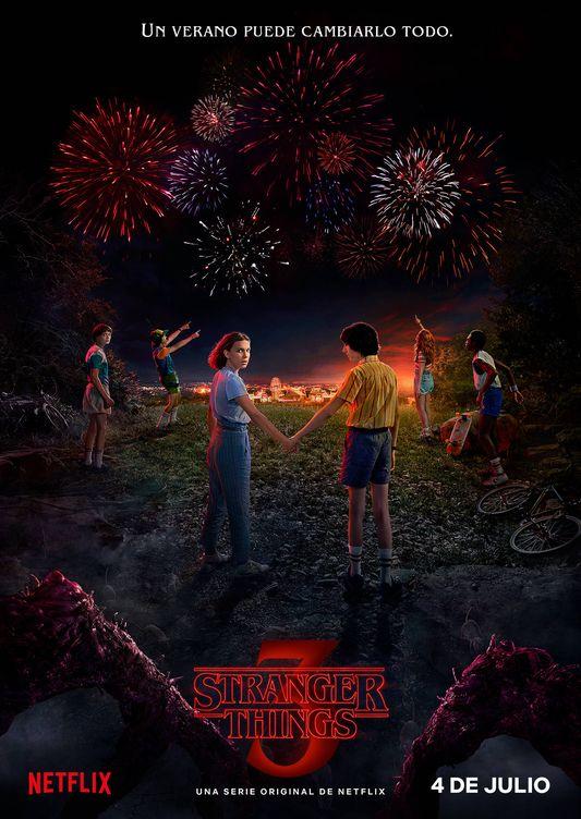 Foto: Imagen promocional de la tercera temporada de 'Stranger Things'. (Netflix)