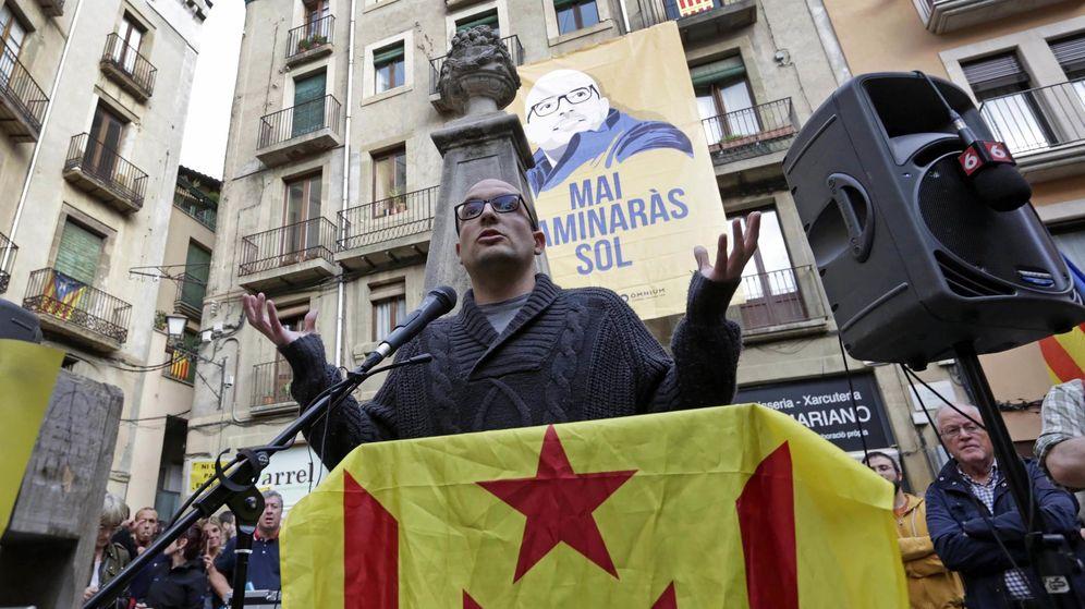 Foto: El regidor de la CUP, Joan Coma (Efe)