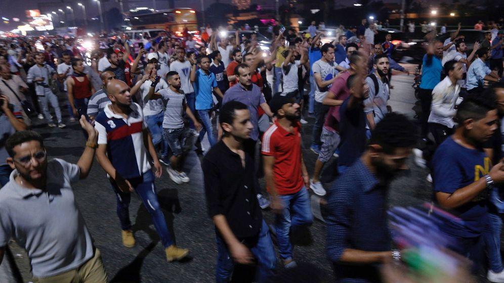 Foto: Protestas en El Cairo, Egipto. (Reuters)