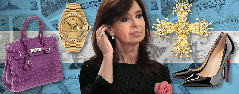 Foto: La presidenta de Argentina, Cristina Fernández de Kirchner es una amante de las firmas de moda y lujo (Vanitatis)